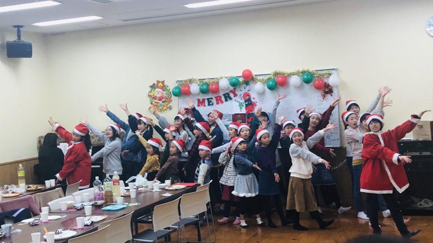 クリスマス会で歌い納め♪この1年もありがとうございました!