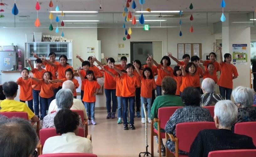 熊本セントラル病院デイケアセンターでミニコンサートをしました♪